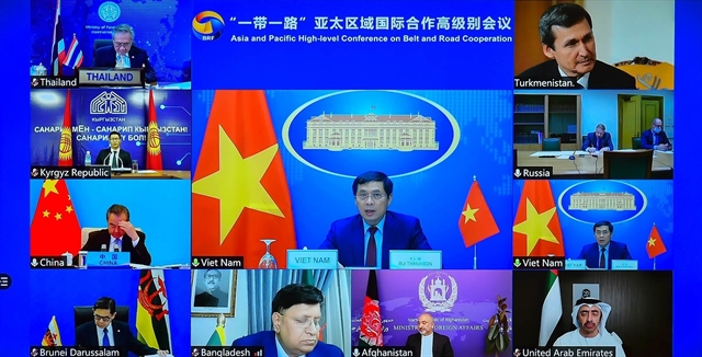 Việt Nam attends Asia  Pacific High-level Conference on Belt  Road Cooperation