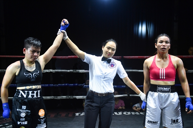 Referee Lệ just wants to run good clean fights