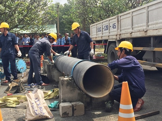 HCM City plans to improve the water supply system after groundwater restriction.