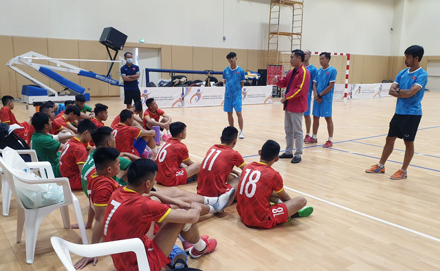 Việt Nam to face Brazil in Futsal World Cup