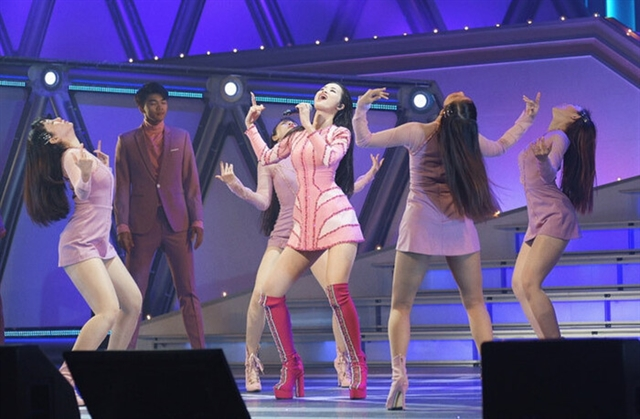 PopidolĐông Nhi attends ASEAN Japan Music Festival 2021