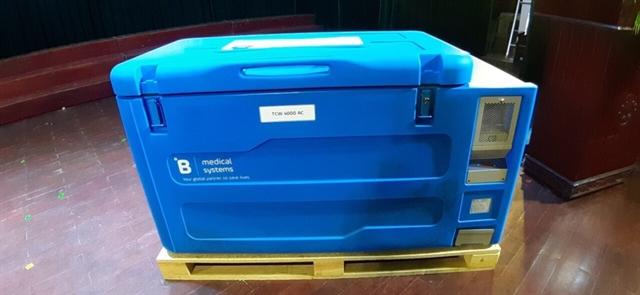 GAVI-UNICEF supported vaccine refrigerators arrive in Việt Nam