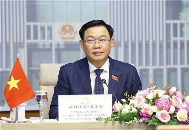 Top Vietnamese Brunei legislators hold online talks