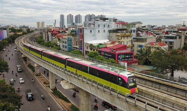 Hà Nội Railway Station - HoàngMai urban railway line project submitted to Government