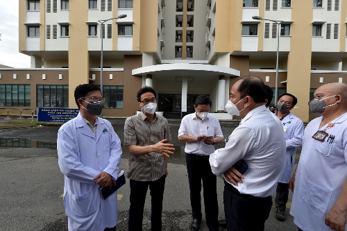 Health department proposes reducedhospitalisation time for mild COVID-19 cases