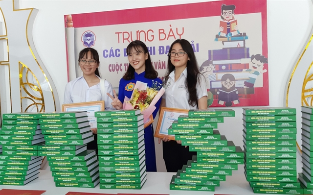 National contest stirs reading enthusiasm for younger generation