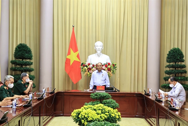 President meets with AO revolutionary martyrs support groups
