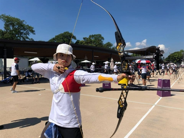 Vietnamese archers aiming for gold in Tokyo
