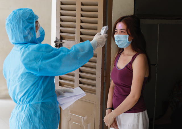 Home quarantine offers hope for hospitals in need of beds
