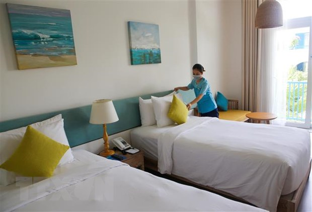 Bookings for quarantine hotels can be made via citywebsiteor app