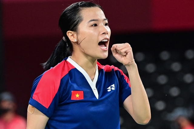 Linh secures second badminton win in Olympics