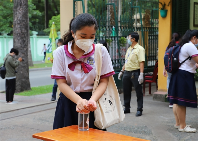 National high school graduation exams begin in HCM City with protective measures