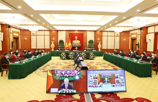 Party leaders full speech at the Communist Party of China and World Political Parties Summit