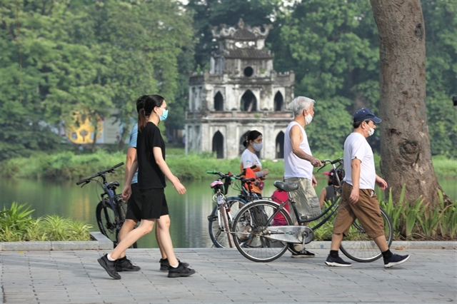 Hà Nội suspends outdoor physical exercises and sports from 6pm