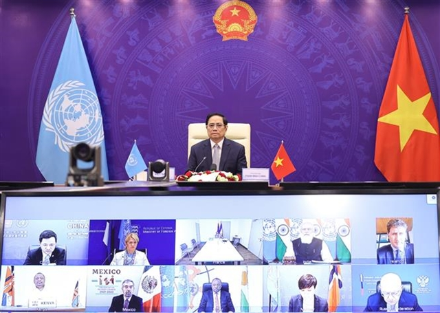 Maritime security issue needs global solution: Prime Minister