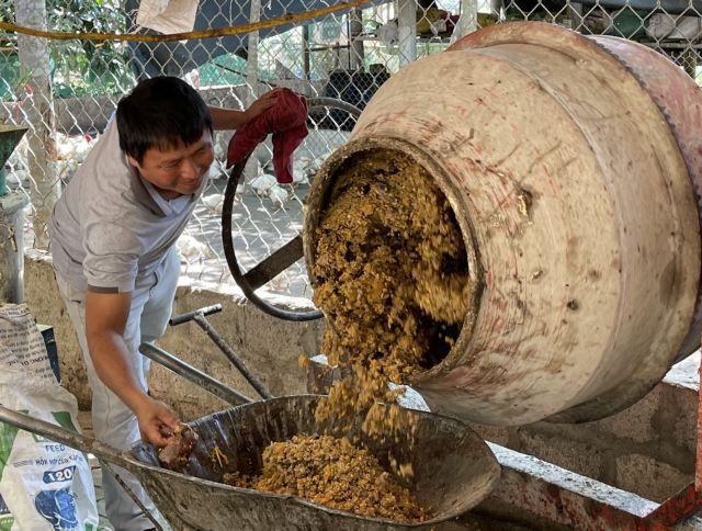 Quảng Trị farmer successful inorganic farming