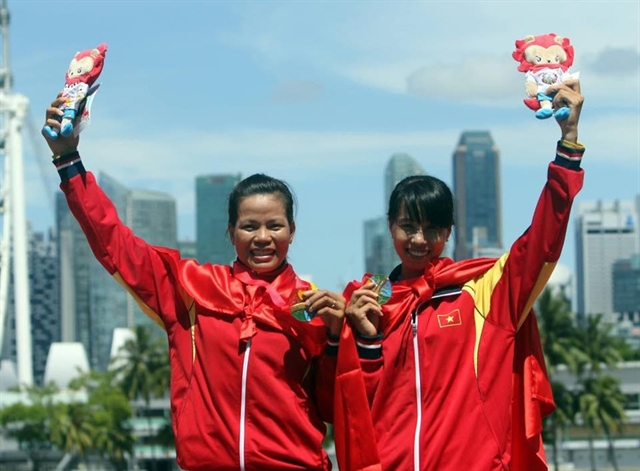 Việt Namveteran sets eyes on rowing golds