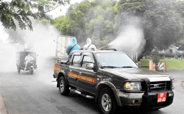 Spraying disinfectant in public spaces ineffective wasteful: Health ministry