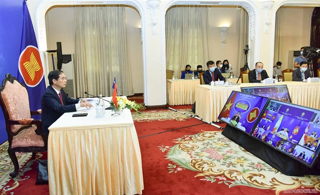 ASEAN Foreign Ministers discuss COVID-19 response community building