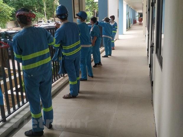 Sanitation workers volunteer to stay in lockdown areas to keep environment clean