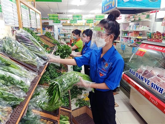Special task groups shop for locked-downHCM City residents