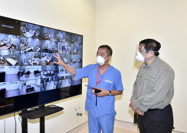 PM inspects COVID-19 prevention and control work in Bình Dương