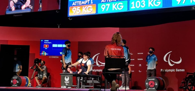 Loan finishes sixth in powerlifting Tùng disqualified in swimming