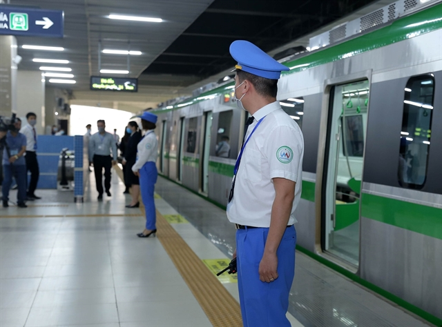 Transport department announces Cát Linh-Hà Đông metro fares