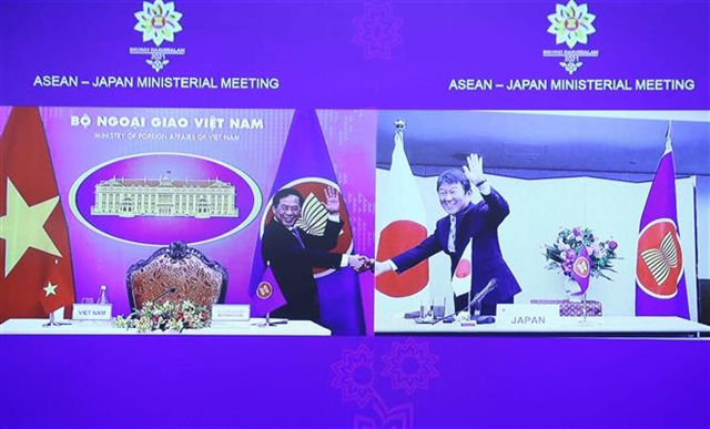 ASEAN and Japan developed heart to heart relations over the past years: ministers
