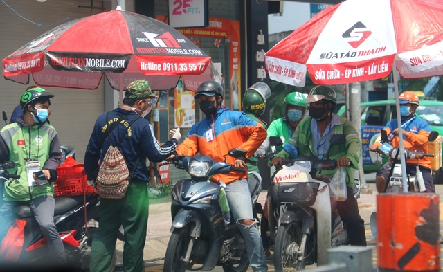 Delivery services now available in very high-risk districts in HCM City