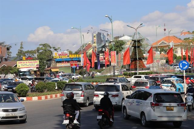 Work on ring road in Đà Lạt City begins