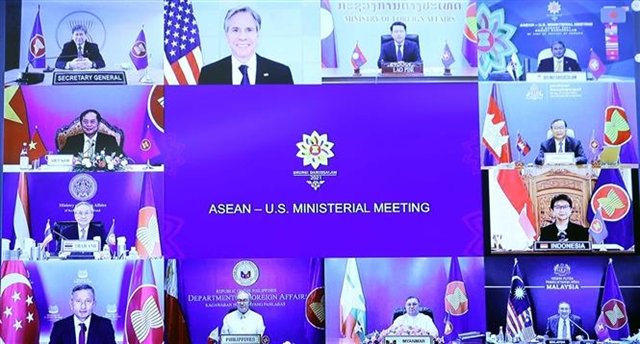 US supports ASEANs principles on the South China Sea
