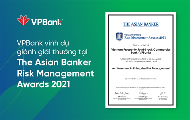 VPBank wins Achievement in Enterprise Risk Management award for second consecutive year