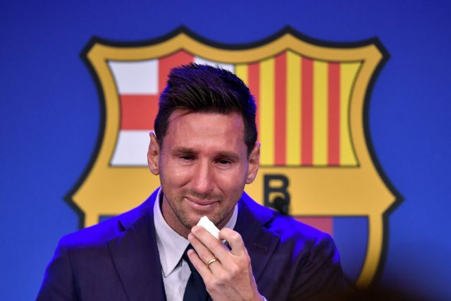 Focus switches to PSG as tearful Messi confirms its over at Barca