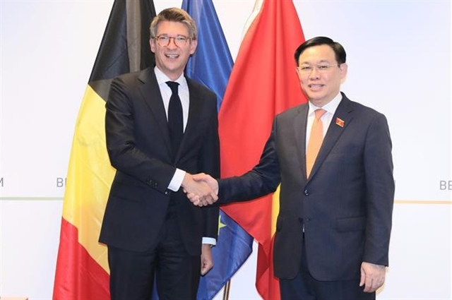 Việt Nam Belgium agree to bolster bilateral relations