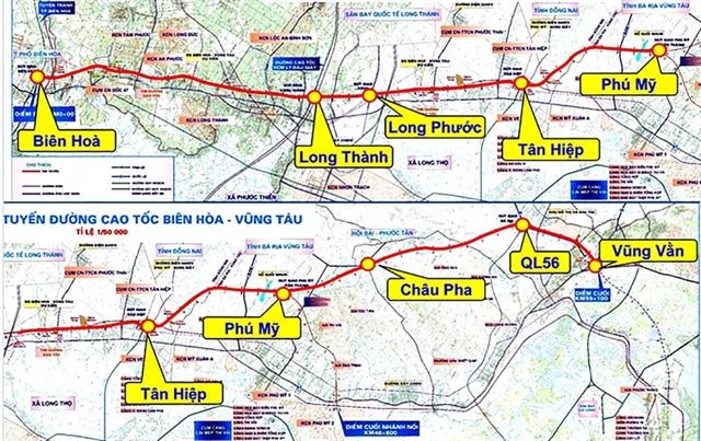Minister approvesBiên Hòa-Vũng Tàu expressway project