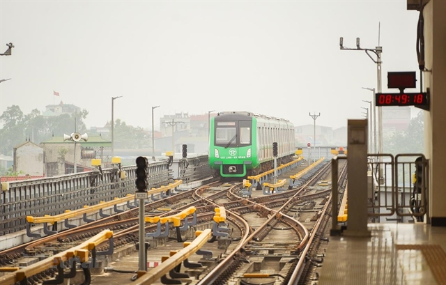 Cát Linh-Hà Đông railway needs extra $7.8mfor supervisionand consulting