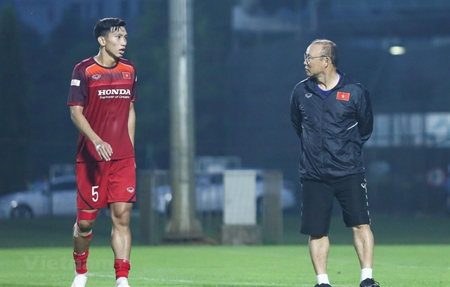 Văn Hậu to miss rest of World Cup Qualifiers due to injury