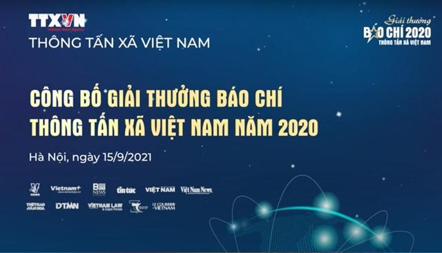 VNA Press Awards 2020 affirm professionalism, cohesion, responsibility