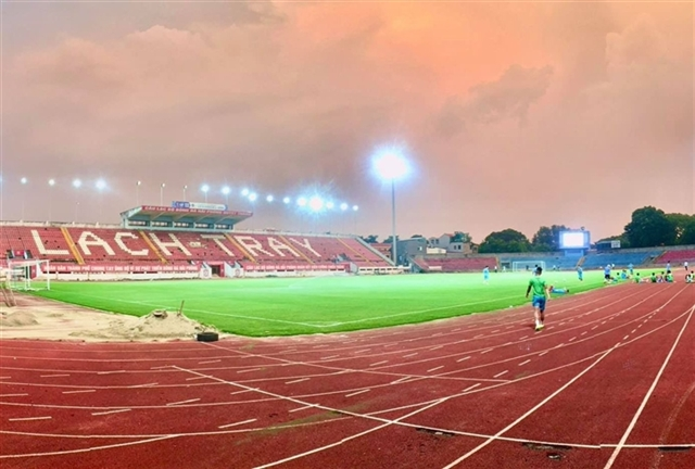 Hải Phòng FC proposes plan to organise World Cup qualifiers matches at their stadium