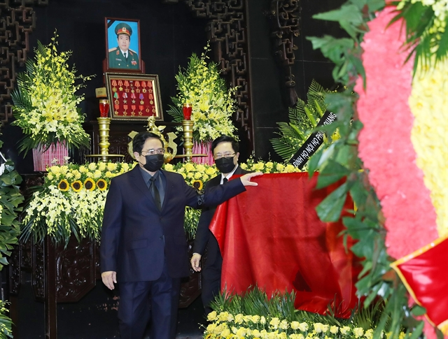 State funeral held to commemorate General Phùng Quang Thanh