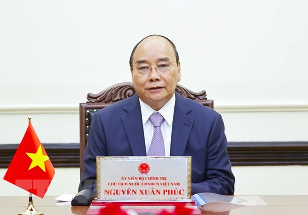 President Nguyễn Xuân Phúc holds phone talk with Russian counterpart
