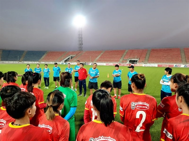 Womens team ready for Asian Cup qualifiers