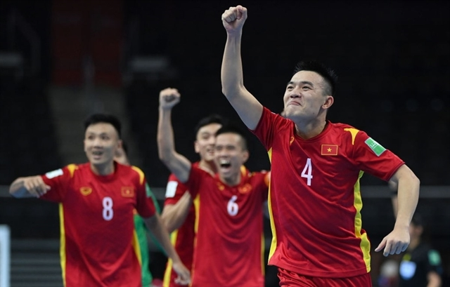 Việt Nam advance to Futsal World Cup knockout stage