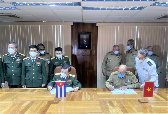 Cubas defence ministry donates 150000 COVID-19 vaccine doses to Việt Nam