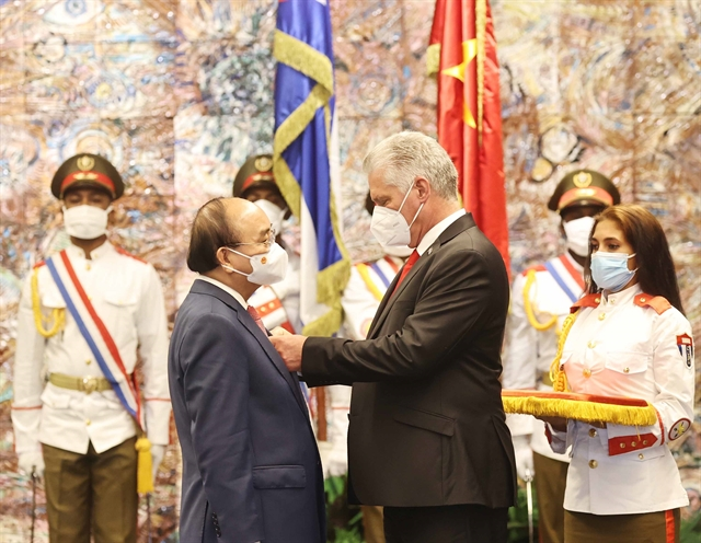 Cuba never feels alone thanks to solidarity with Việt Nam: Top leader Diaz-Canel