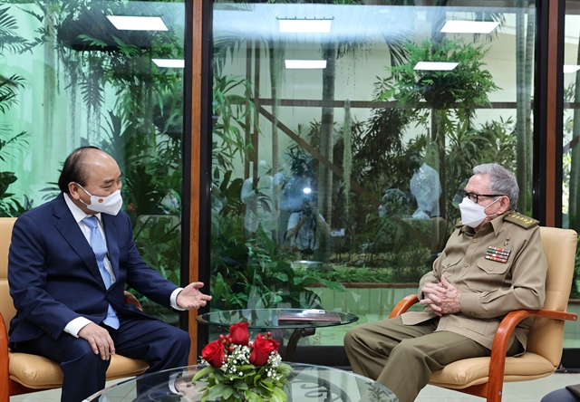 Vietnamese President reiterated solidarity with Cuba in meeting with General Raul Castro Ruz