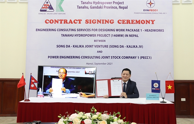Việt Nams power company seals contract for hydropower project in Nepal
