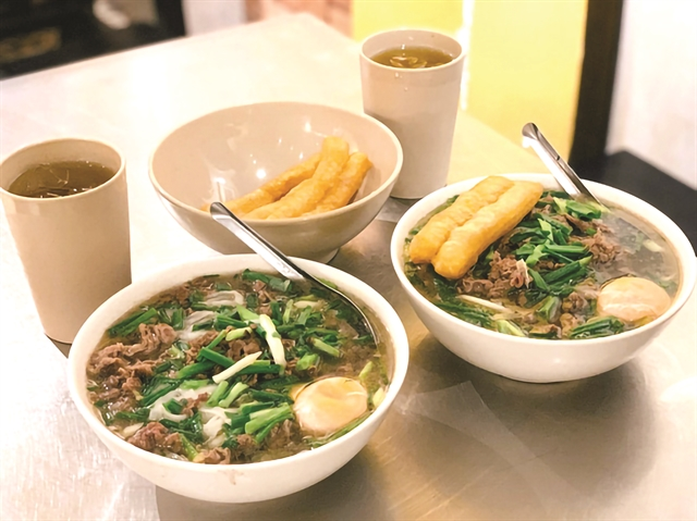 Hot phở and vermicelli delivered to your door