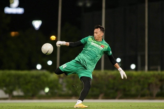 Goalkeeper Trường wont let second chance slip by